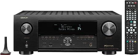 Denon AVR-X4700H 8K Ultra HD 9.2 Channel (125 Watt X 9) AV Receiver 2020 Model - 3D Audio & Video with IMAX Enhanced, Built for Gaming, Music Streaming, Alexa + HEOS