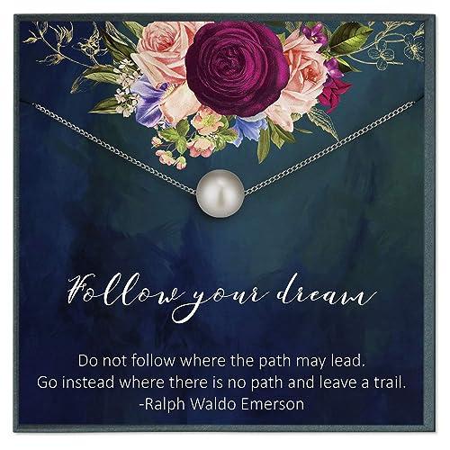 com follow your dream graduation gift for her graduation