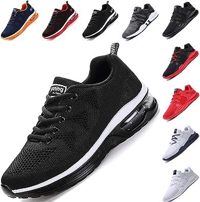 Zapatillas de Deporte Hombres Zapatos para Correr Gimnasio Running para Sneakers Deportivas Padel Transpirables Casual Montaña: Amazon.es: Zapatos y complementos