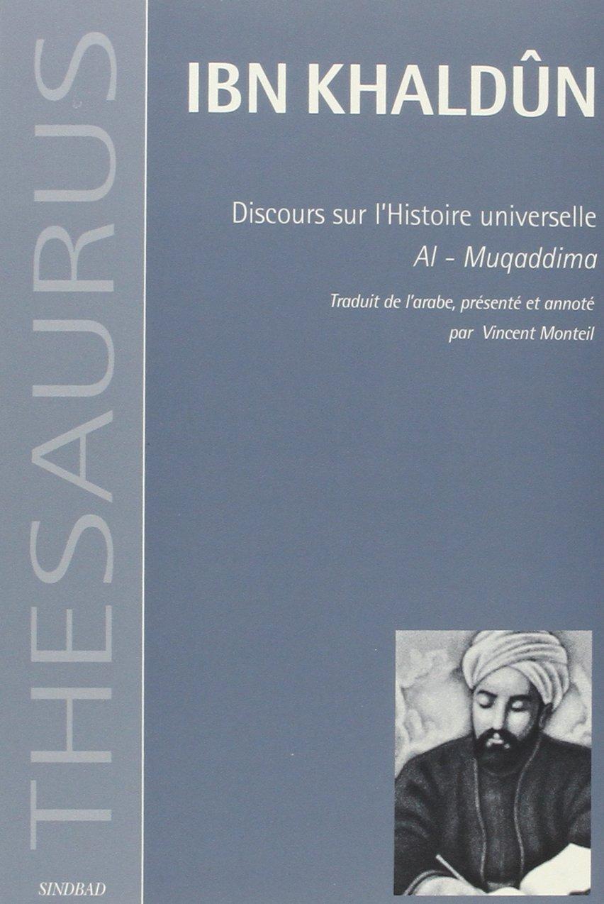 IBN EN PDF TÉLÉCHARGER FRANCAIS KHALDOUN MUQADDIMA
