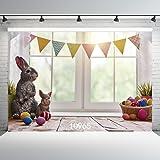 WOLADA 7X5FT Easter theme Photography Backdrop Vinyl Customized Newborn Photo Background Studio Prop 10965