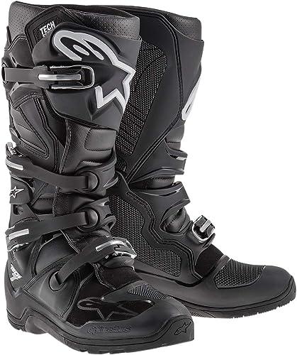 Alpinestars Men's Tech 7 Enduro Motocross Boot, Black, 11