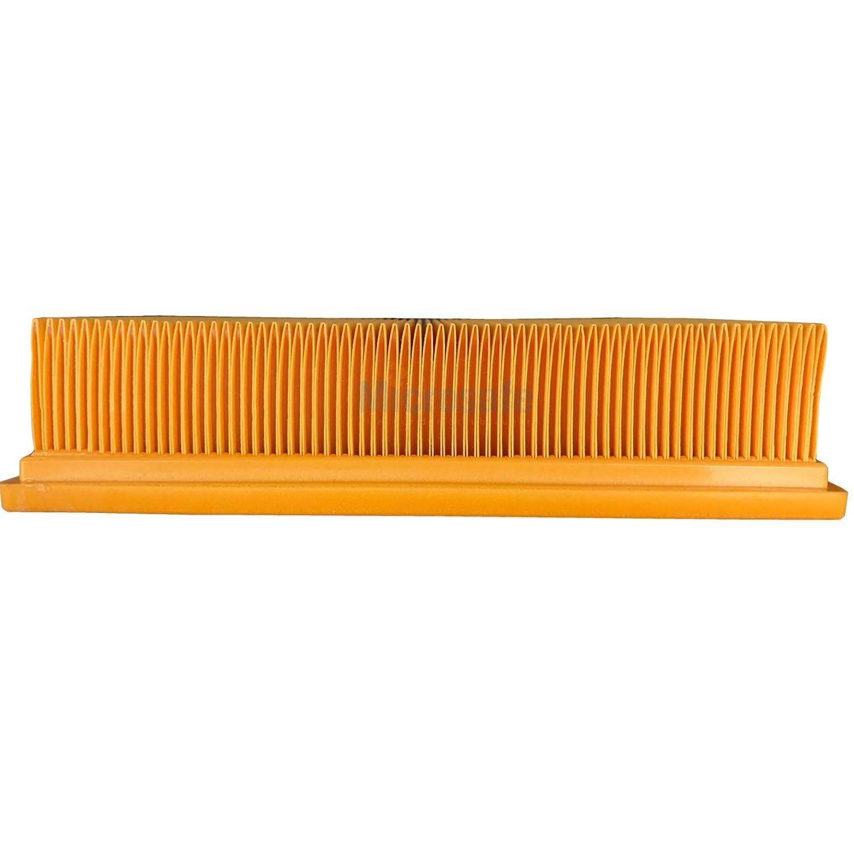 Microsafe/® filtro alternativo per 6.904-367.0 // 69043670 Ap, Adv, Tact, Te ecc. Filtro plissettato per aspirapolvere K/ärcher serie NT 25//1 e NT 35//1