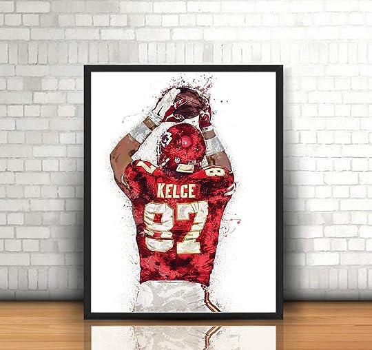 Travis Kelce Poster