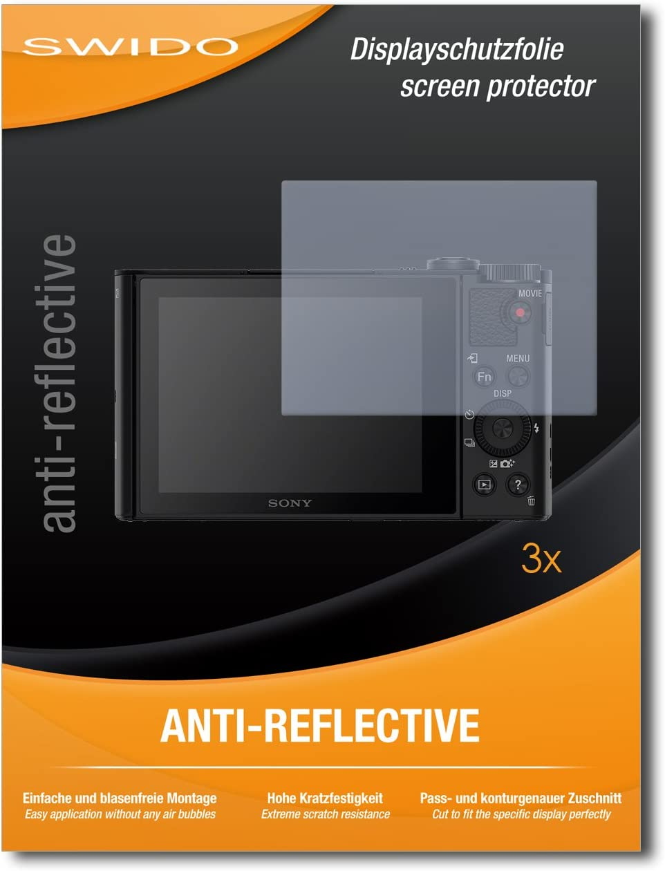 Swido Protector de Pantalla para Sony Cybershot DSC-RX1