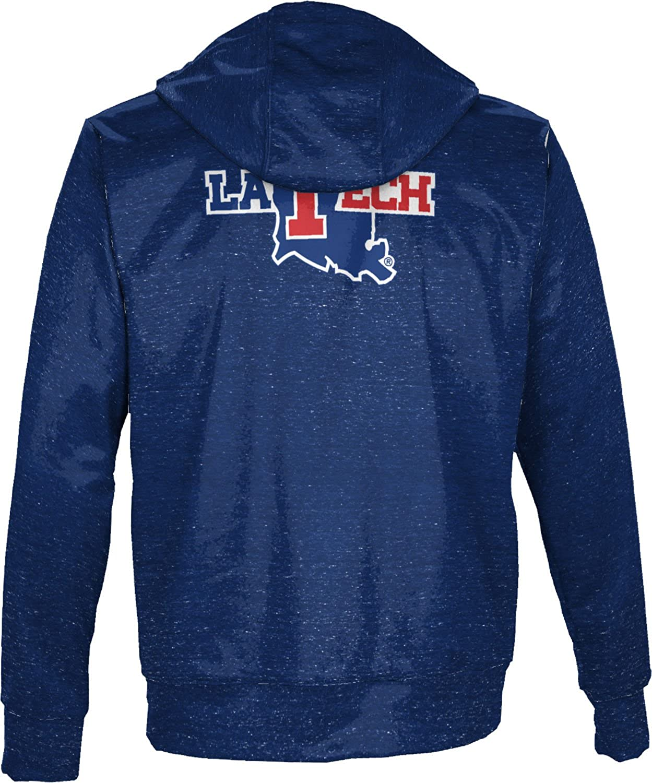 Heathered ProSphere Louisiana Tech University Mens Full Zip Hoodie