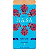 Fair Trade Organic Dirty Rasa - Low Caffeine Organic Coffee Substitute with Adaptogens: Chagae & Reishi Mughroom - Concentration & Energy Focused Blend - Vegan and Gluten Free - 8oz