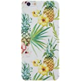 CaseBee® - Tropical Forrest Soft Clear TPU iPhone 6 / 6S Plus Case (Package includes Screen Protector)