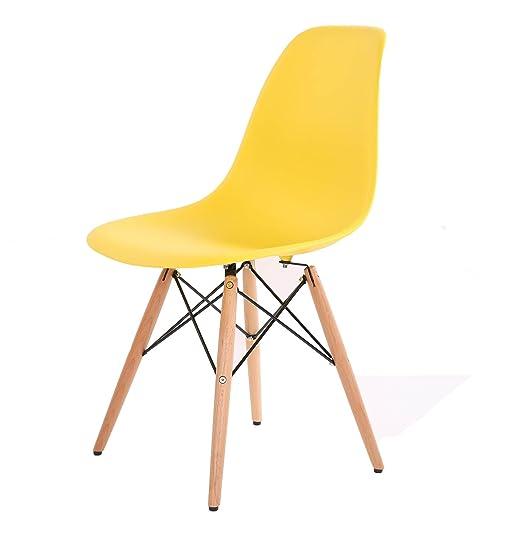 HNNHOME Chaise Inspirée Eames Eiffel Dîner Salon Mobilier Moderne ...