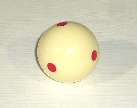 philna12 bola de billar para entrenar (punto rojo): Amazon.es: Deportes y aire libre