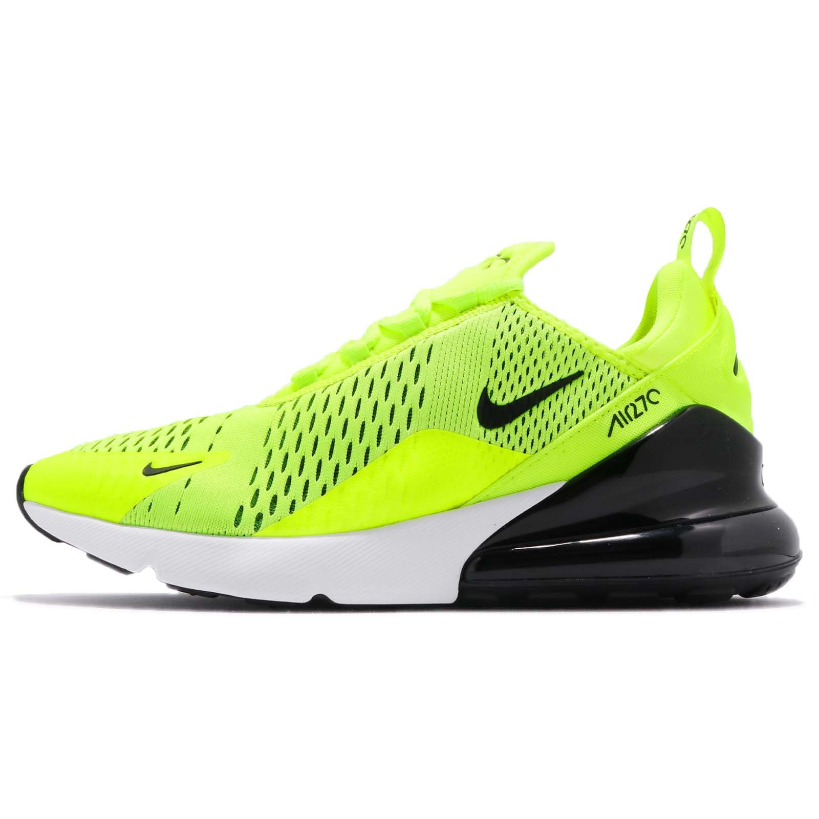 best service 0e375 8770a Galleon - Nike Air Max 270 Men s Shoes Volt Black Dark Grey White  Ah8050-701 (8.5 D(M) US)