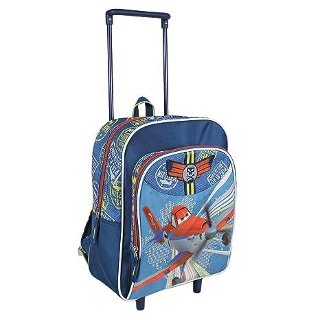 f666084394 Zaino Trolley 2 Ruote Asilo e Scuola Elementare 33 x 26 x 12 cm Disney  Planes