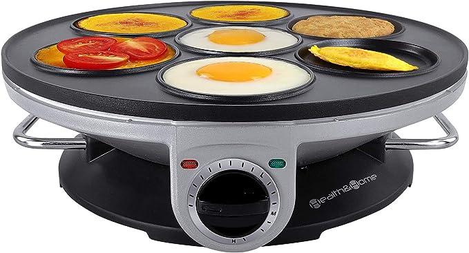 Non Stick Egg Cooker Pan Adjustable Temperature For Mini Crepe ...