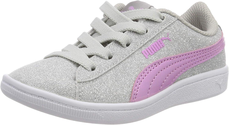Puma Vikky AC PS Kinder Schuhe Sneaker Turnschuhe 366713 Rosa 05