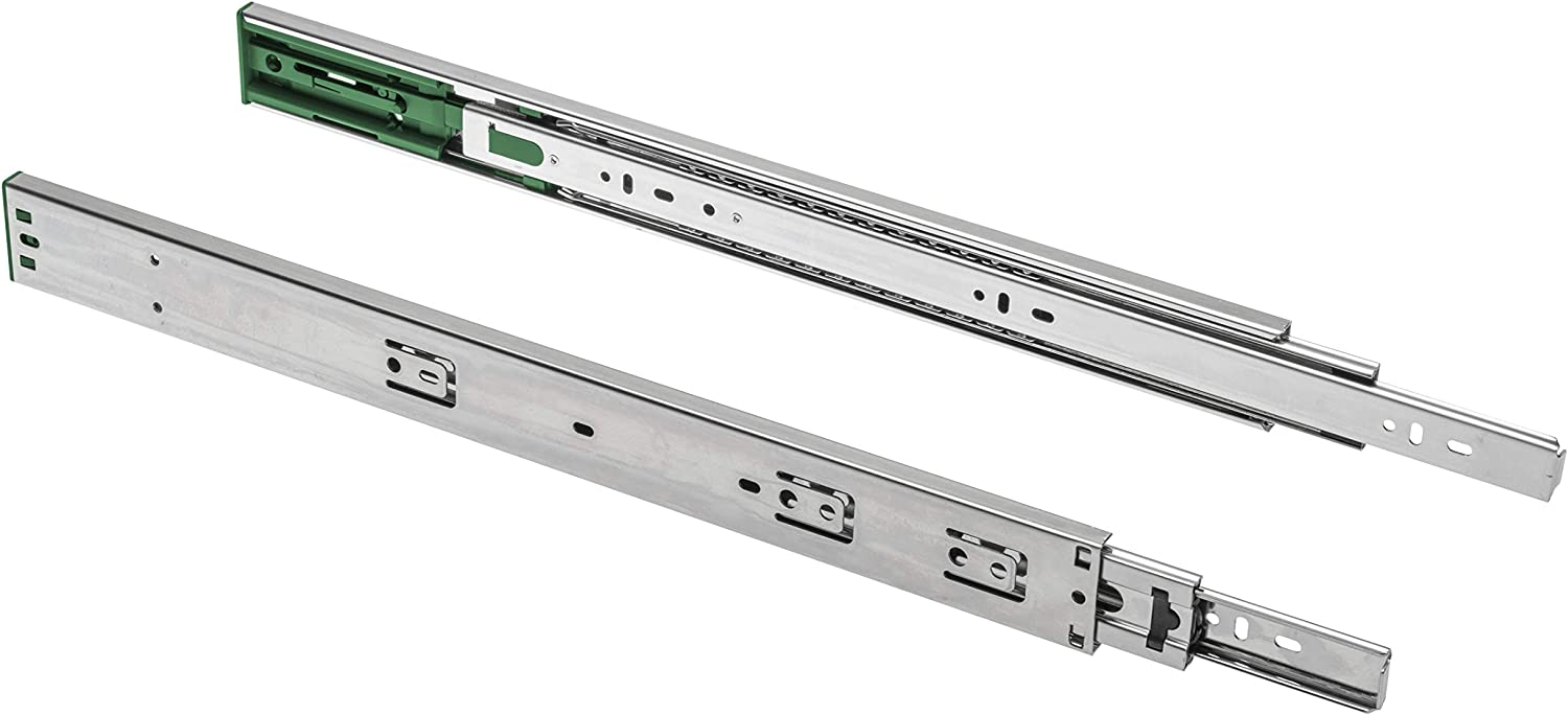 VERSALITE 45mm L500 Drawer Runners Ball Bearing Slide with Soft Closing Function