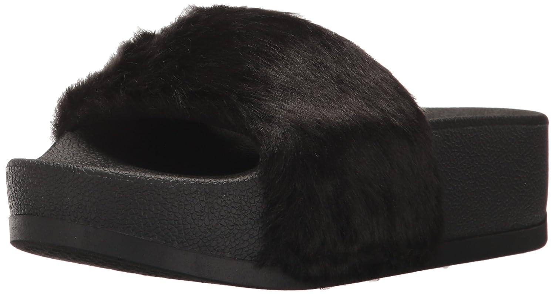 07e9c4d46ef Amazon.com  Steve Madden Women s SOFTEY-P Slide Sandal  Shoes