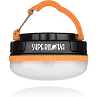 Supernova Halo 150 Extreme LED Camping and Emergency Lantern - The Brightest Most Versatile Tent Light Available - Backpacking - Hiking - Auto - Home - College - Batteries Included