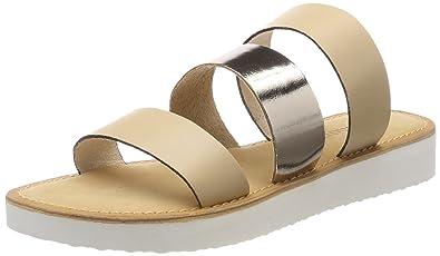 VERO MODA Damen Vmway Leather Sandal Plateausandalen