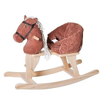 Knorrtoys 40491 Schaukelspielzeug Baby Schaukelpferd Xena mit Sound