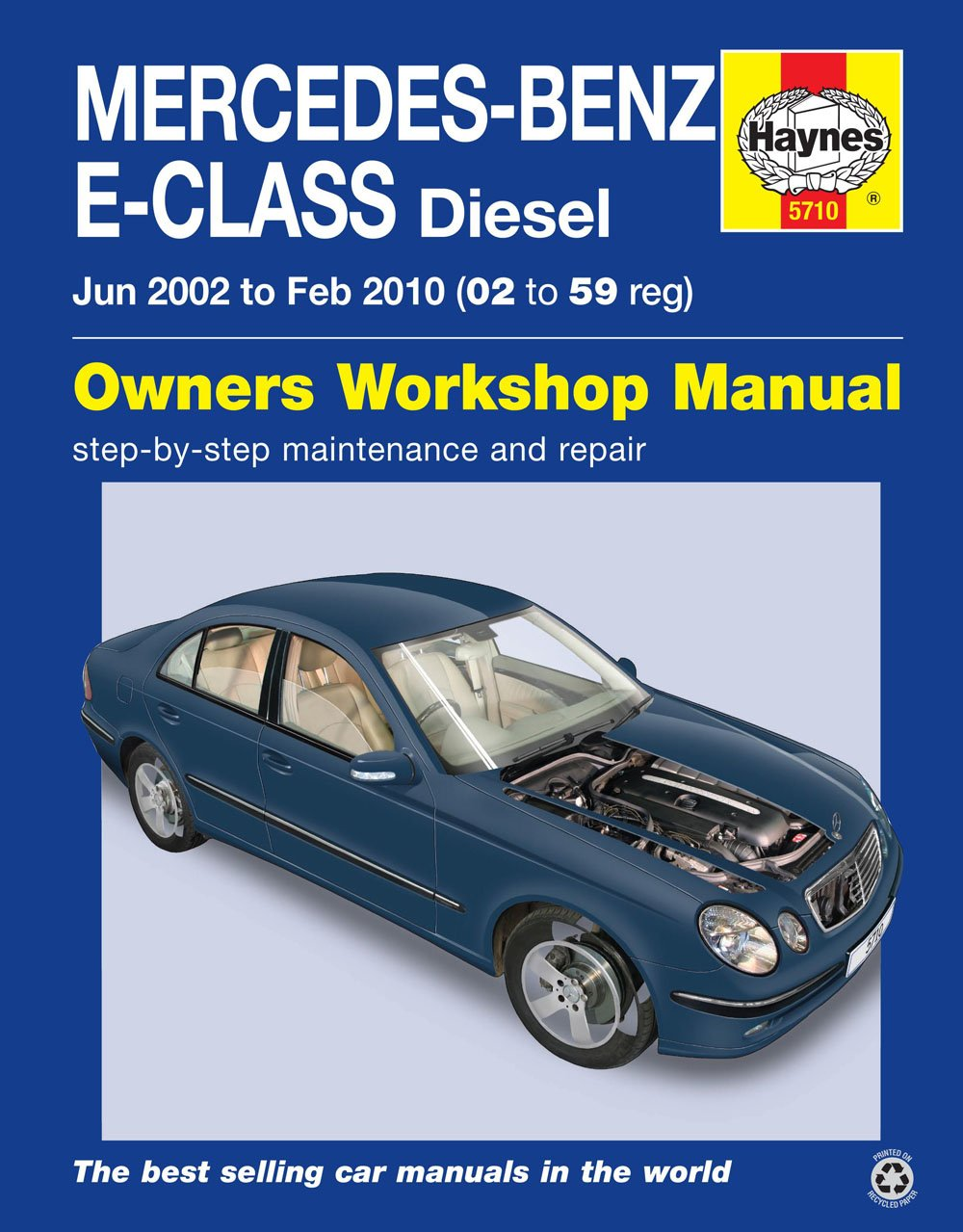 Mercedes-Benz E-class 02 - 59 Diesel (Haynes Owners Workshop Manual)