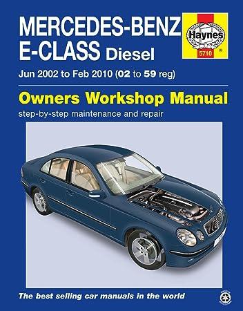 mercedes benz e class 02 59 diesel haynes owners workshop manual rh amazon co uk Mercedes-Benz Black Classic Mercedes-Benz E 220