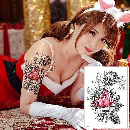 tzxdbh 3pcs Arte del Tatuaje Temporal, Tatuaje del Brazo de la ...