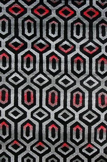 3026 Gray White Black 7 10×10 6 Area Rug Carpet Large New