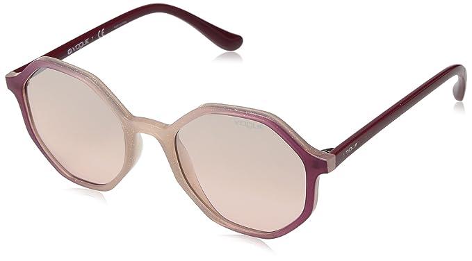 Vogue 0VO5222S, Gafas de sol para Mujer, Opal Pink Glitter ...