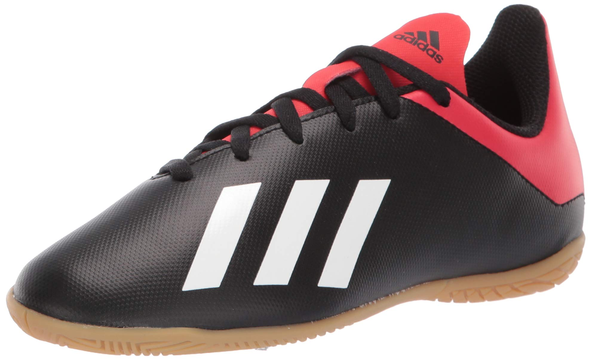 5a38a9720 adidas Kids X 18.4 Indoor, black/off white/active red 12.5K M US