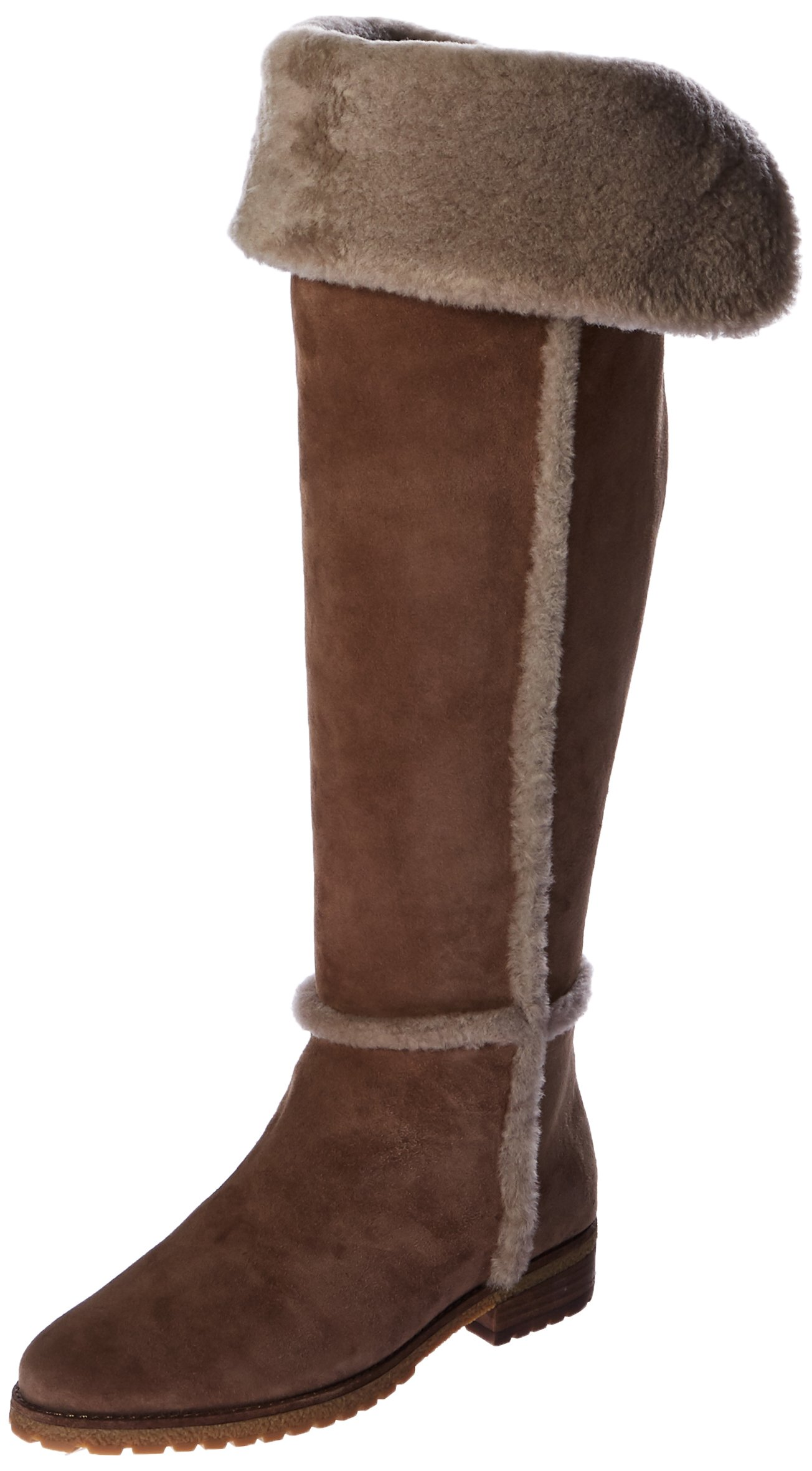 FRYE Women's Tamara Shearling Otk Winter Boot, Taupe, 10 M US