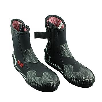 Polaris Black de botas Pro de neopreno Calcetines Bootie Buceo Zapatos 6 mm, con potencia de termoflex: Amazon.es: Deportes y aire libre