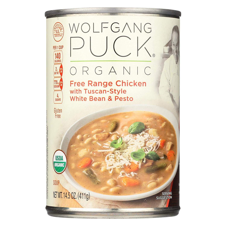 Wolfgang Puck Soup Chkn W Wht Bean&Pest 14.5 OZ (Pack of 12)
