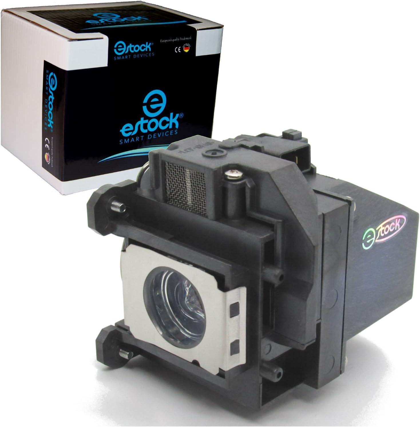 Lámpara proyector 220 W, 3000 h, compatible con Epson ELPLP57 ...