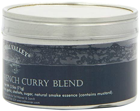 Amazon.com : Jansal Valley Vadouvan French Curry, 2.5 Ounce : Curry ...