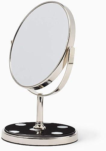 Kate Spade New York Kate Spade Inset Vanity Mirror, 9.5 , Black