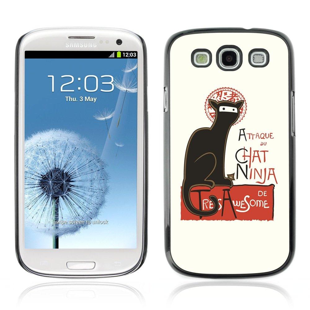 YOYOSHOP [Attaque Du Cat Ninja Funny ] Samsung Galaxy S3 ...