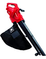 Einhell GC-EL 2500 E-Aspirador-soplador eléctrico, saco de 40l, regulador de velocidad, 7000 - 13500 rpm, 2500 W, 230 - 240 V, color negro y rojo (ref. 3433300)