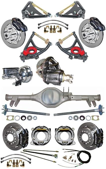 71XHCmyI7eL._SY679_ amazon com new 59 64 chevy suspension & wilwood brake set with