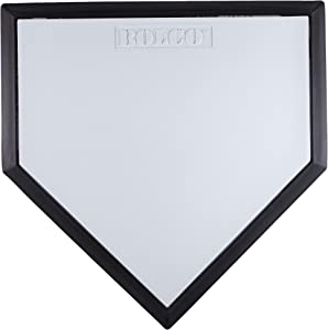 Adams Bolco Baseball Home Plate for Baseball and Softball Bases Sets, Great for Competition Little League, High School and Parks and Recreation Fields