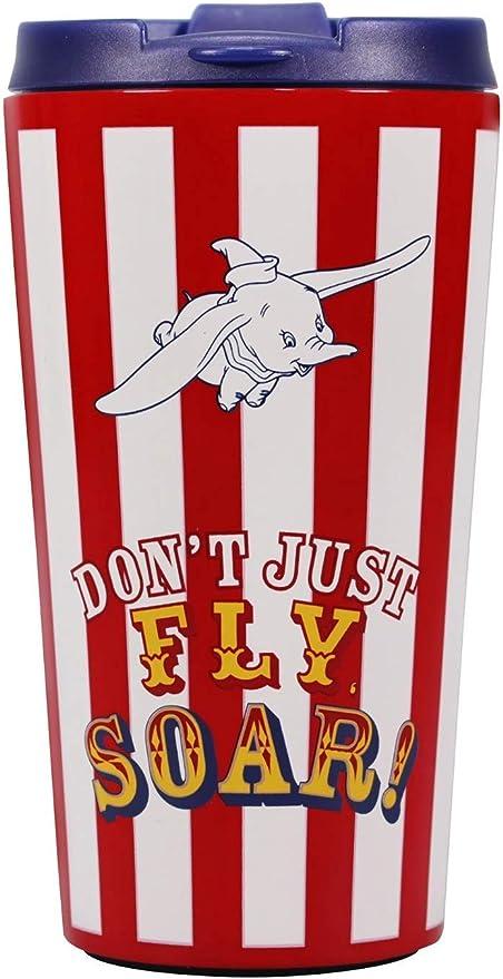 Don't Just Fly Soar Dumbo Inspired Wine Bottle Vinyl Decal