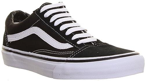 fb7939a28a92 Vans Old Skool Mens Plimsolls Canvas Skate Trainers (7.5 UK