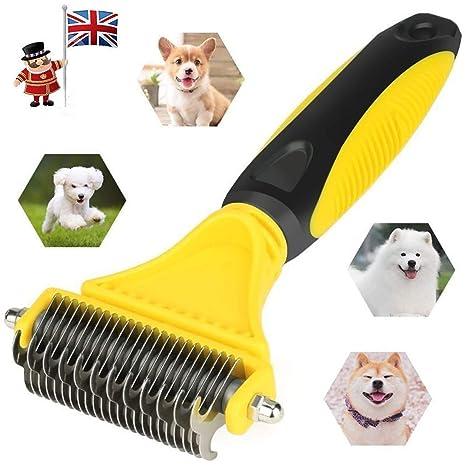 Cepillo de Herramientas para Perros o Perros de Acero en Forma de T para Mascotas,