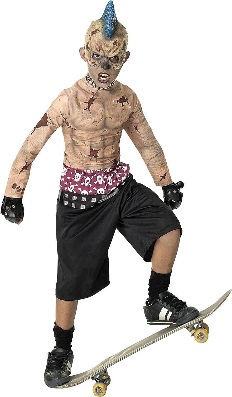 Rubies - Disfraz infantil de skater zombie (talla L): Amazon.es ...