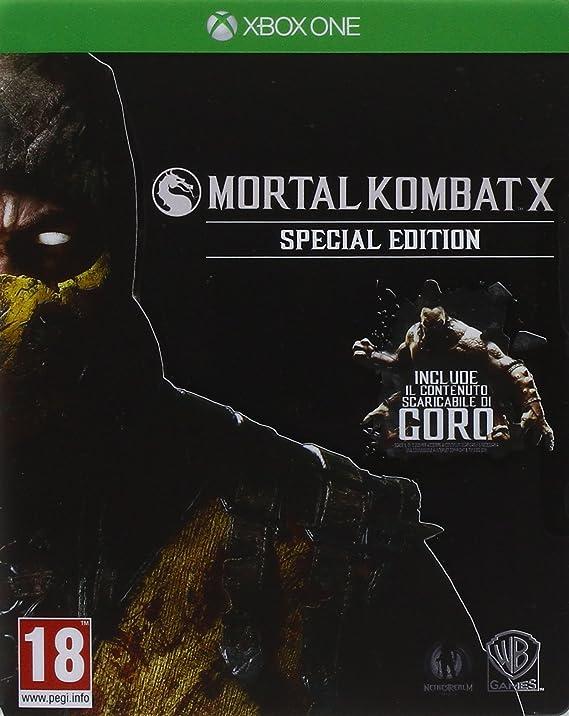 Mortal Kombat X - Special Limited Edition: Amazon.es: Videojuegos