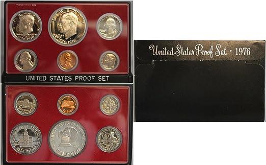 1976-S US Mint Bicentennial Silver Set Unc Coins Set-3 coins Red Mint Envelope