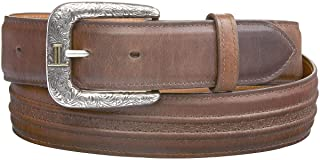product image for Lucchese Men's Burnished Calf Smooth Leather Belt - W4251h