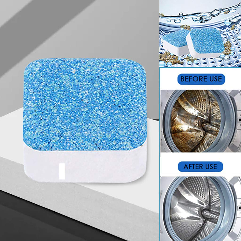 oldeagle Washing Machine Cleaner Descaler, Strong Elasticity Durable ResistantDeep Cleaning Remover Deodorant for Household