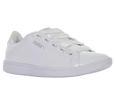 Puma Women s Vikky Ribbon P Low-Top Sneakers  Amazon.co.uk  Shoes   Bags 77c5badd2