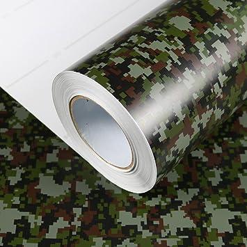 Allvi Wrapping Film Folie Camouflage Pixel Car Wrapping Auto Folie ...