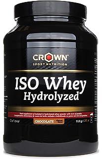 Crown Sport Nutrition ISO Whey Hydrolyzed Proteína de Suero de Leche Hidrolizada, Sabor de Chocolate